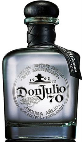 Don Julio Tequila 70Th Anniversary Crystal Anejo 80@
